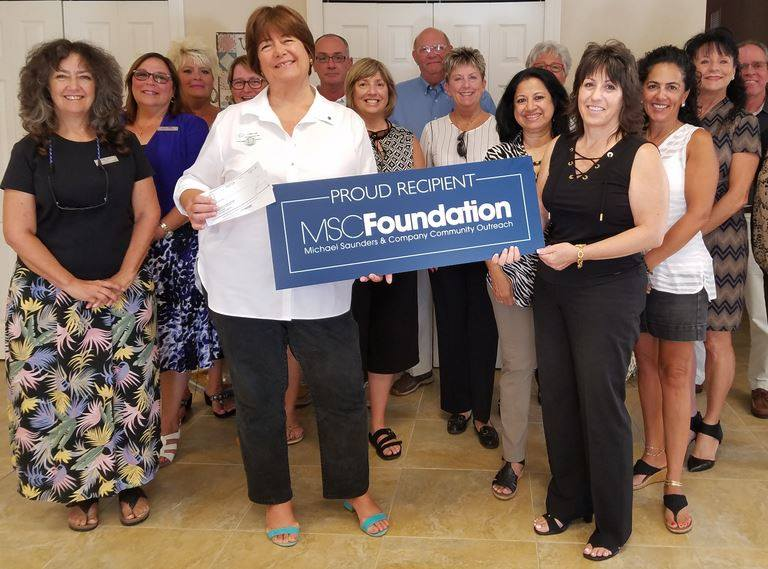 Thank you to Michael Saunders & Company Foundation!